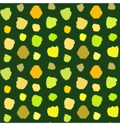 Green Blots Pattern vector image vector image