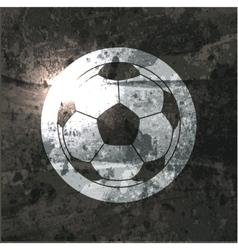 Soccer design background vector image vector image