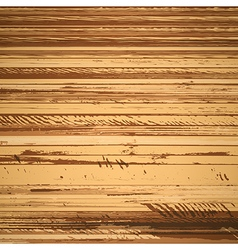 Traced brown wood grain abstract baclkground eps10 vector image vector image