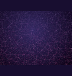 abstract geometric violet network background vector image
