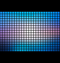 Blue shades pink abstract rounded mosaic vector