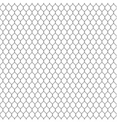 Mesh seamless pattern thin wavy lines lace vector