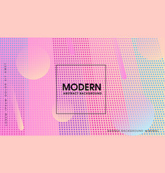 Modern gradient abstract background vector