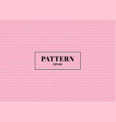 pink polka dot seamless pattern background you vector image