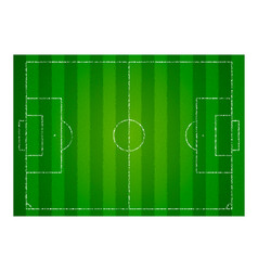 realistic textured grass football field soccer vector image