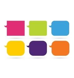 Speech cartoon bubble designlow vector image