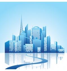 cityscape vector image vector image