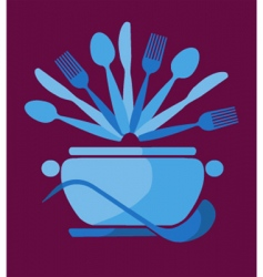 dining illustration vector image