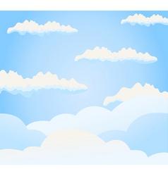sky vector image vector image