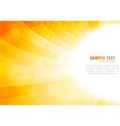bright background in orange color vector image vector image