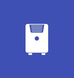 Air conditioner mobile ac icon vector