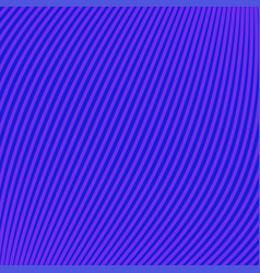 Blue background of lines and waves vector