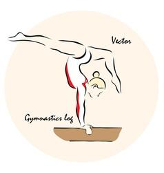 Gymnastics log vector