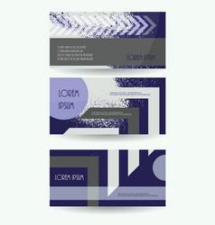 leaflet publication template business brochure vector image