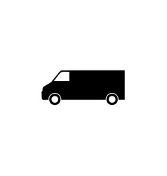minivan icon element of car type icon premium vector image