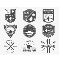 Outdoors camp stamp design Tourism hipster vector