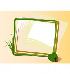 warm dew framework vector image