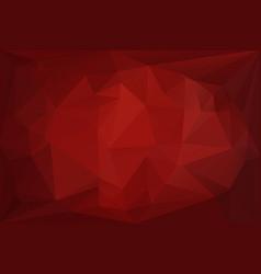 dark red diamond background vector image vector image