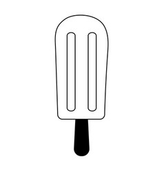 Ice cream with sprinkles icon image vector
