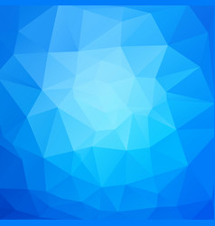 abstract blue mosaic triangles background vector image