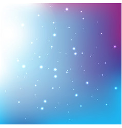 abstract light bokeh blue gradian background vector image