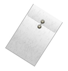 realistic template blank white detailed folder vector image