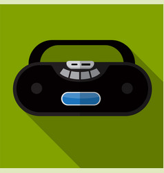 Tape recorder flat icon vector