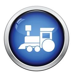 Train toy icon vector image