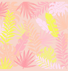 Tropical modern background vector