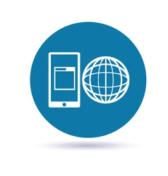 Mobile App Development icon vector image vector image