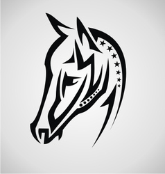 Horse Tribal vector image vector image