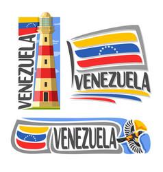 logo venezuela vector image vector image