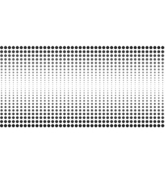 abstract halftone dotted banner vector image