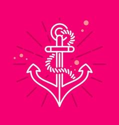 Anchor vector image