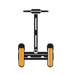 balance scooter outline icon or logo template vector image
