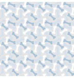 Bone seamless pattern vector image