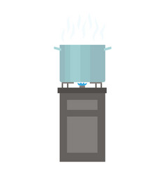 cooking food icon flat style vector image