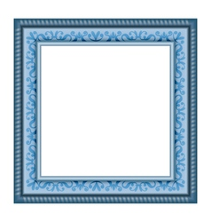 frame isolated on white vector image