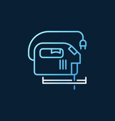 jigsaw creative linear icon - jig saw vector image