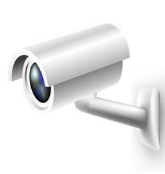 Security camera vector image