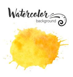 watercolor paint blob paint vector image