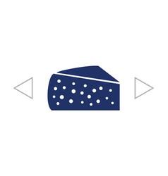 Cheese icon icon vector