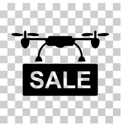 drone sale icon vector image vector image