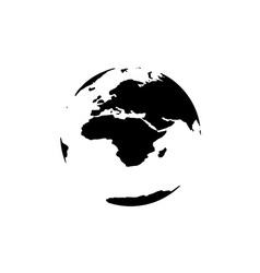 Modern elements World Map vector image