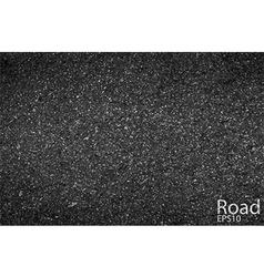 Asphalt background texture with some fine grain vector