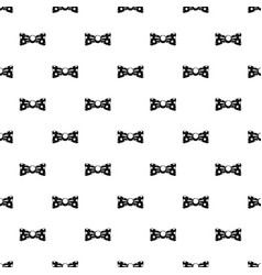 dot bow tie pattern seamless vector image