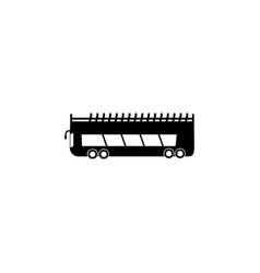 double decker bus icon element of car type icon vector image