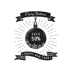 sale card design vector image