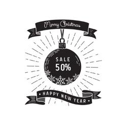 sale card design vector image