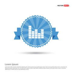 sound beats icon vector image